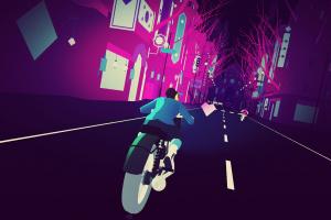 Sayonara Wild Hearts Screenshot
