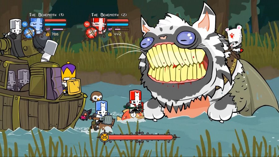 Castle Crashers Remastered Review - Screenshot 1 of 6