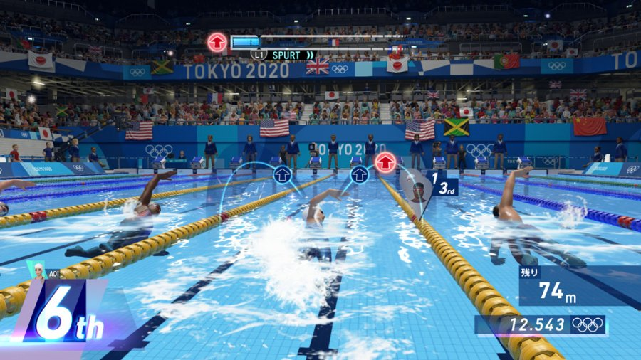 Olympic Games Tokyo 2020: The Official Video Game Review - Screenshot 2 of 4