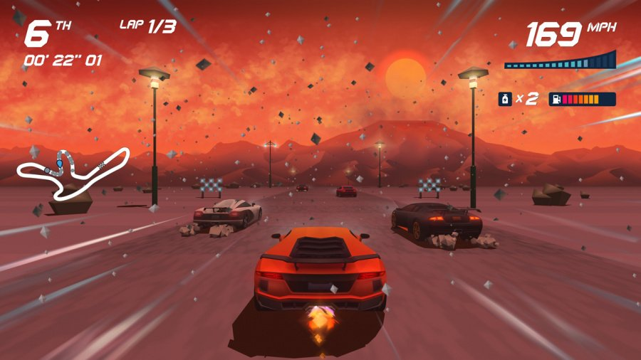 Horizon Chase Turbo Review - Screenshot 1 of 6