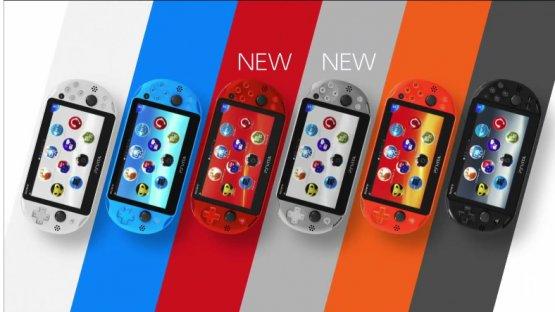 PS vita new colors