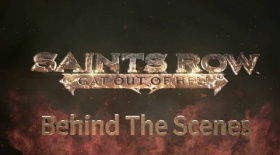 Saints Row IV (PS3) Gat Out of Hell Behind The Scenes Trailer